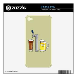 Happy Draft Beers iPhone 4 Skins