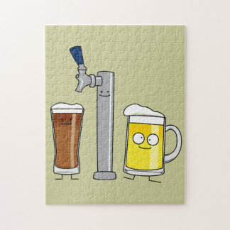 Happy Draft Beers Jigsaw Puzzle
