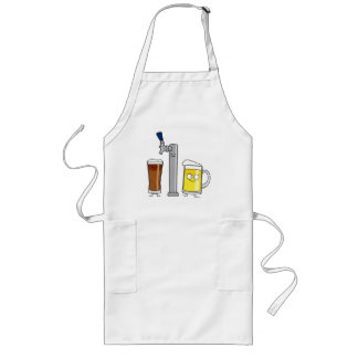 Happy Draft Beers Long Apron