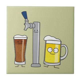 Happy Draft Beers Tile