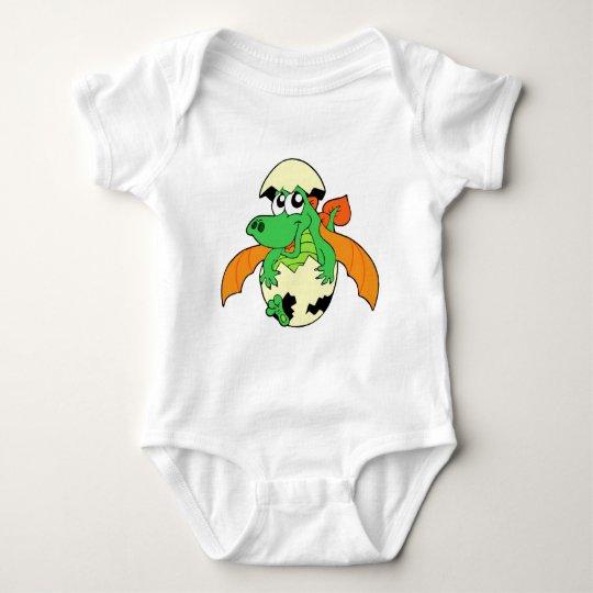 Happy Dragon Hatchling Baby Bodysuit