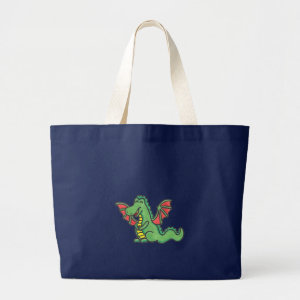 Happy Dragon, tote bag bag