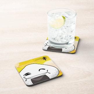 Happy drinks coasters