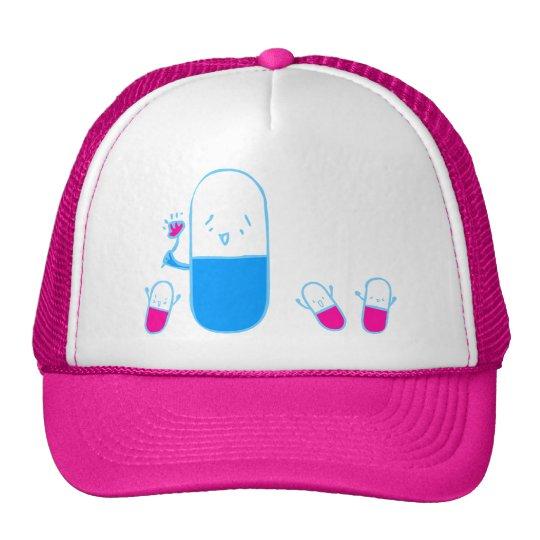 Happy Drugs Doodle Art Hat