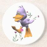 Happy Duck Beverage Coasters