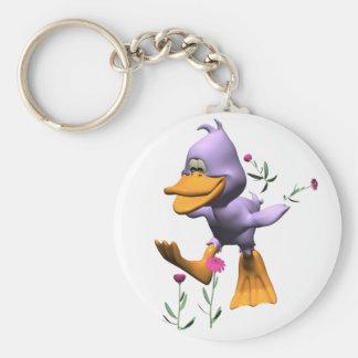 Happy Duck Key Chain
