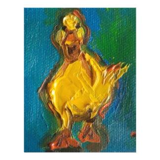 Happy Duck Letterhead