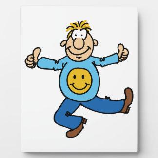 Happy Dude Plaque