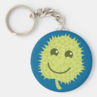 Happy Durian fruit Keychain