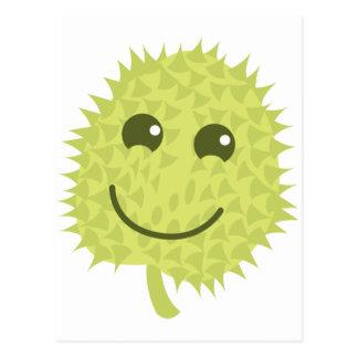 Happy Durian fruit Postcard