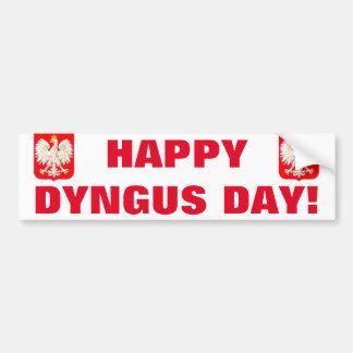 HAPPY DYNGUS DAY BUMPER STICKER