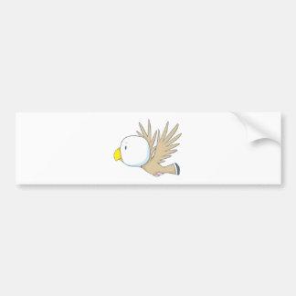 Happy Eagle Bumper Sticker
