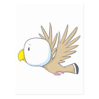 Happy Eagle Postcard