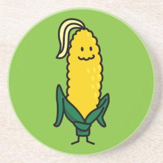 Happy Ear Corn on the Cob Coaster