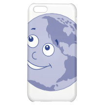 Happy Earth Blue Cover For iPhone 5C