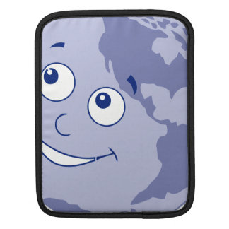 Happy Earth Blue Sleeve For iPads