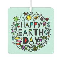 Happy Earth Day Air Freshener