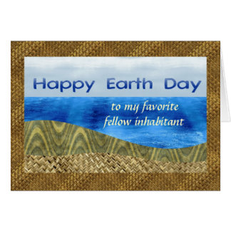 Happy Earth Day, Customizable Recipient, Textured Card