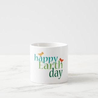 Happy Earth Day Espresso Cup
