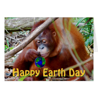 Happy Earth Day from the Wild Animals Card