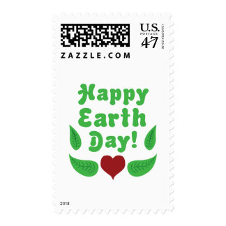 Happy Earth Day! Postage