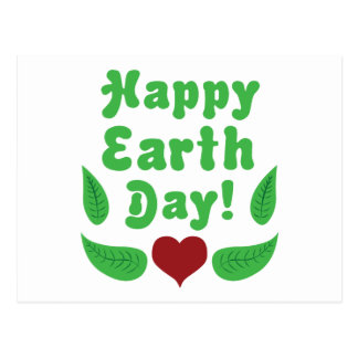 Happy Earth Day! Postcard