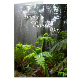 Happy Earth Day Rainforest Card