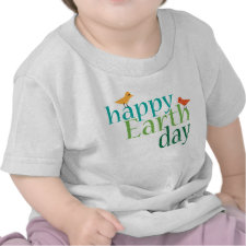 Happy Earth Day T-shirt zazzle_shirt