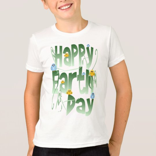 Happy Earth Day with Birds Shirt