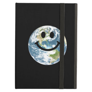 Happy Earth smiley face Case For iPad Air