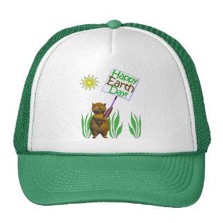 Happy Earthday Hedgehog Trucker Hat