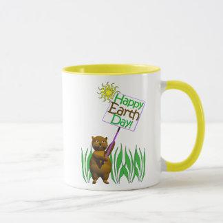Happy Earthday Hedgehog Mug