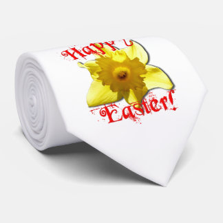 Happy Easter, 02.2T Daffodils Tie
