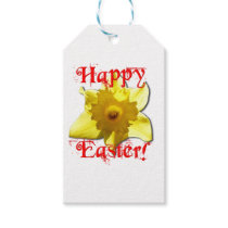 Happy Easter, 02.T Daffodils Gift Tags