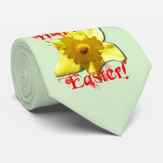 Happy Easter, 02.T Daffodils Neck Tie