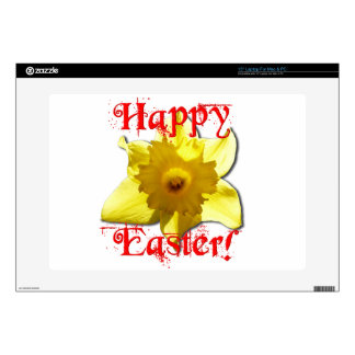 Happy Easter, 02.T Daffodils Skin For Laptop