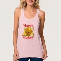 Happy Easter, 02.T Daffodils Tank Top