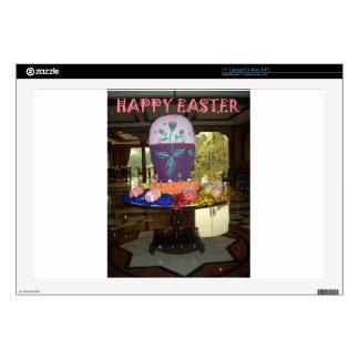 "Happy Easter 17"" Laptop Skins"