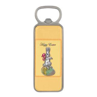 Happy Easter #1 Magnetic Bottle Opener