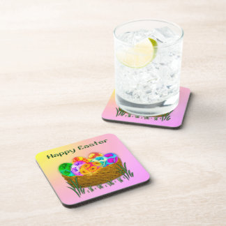 Happy Easter #2 Drink Coaster