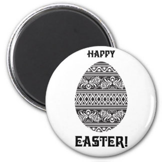 Happy Easter! 2 Inch Round Magnet