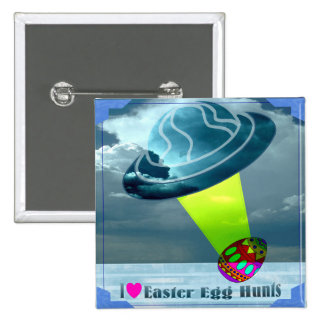 Happy Easter 2 Inch Square Button