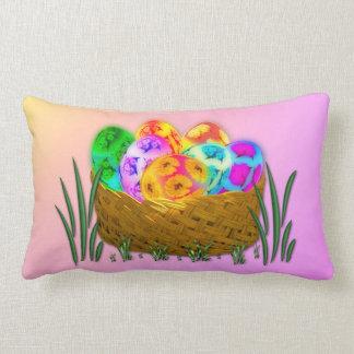 Happy Easter #2 Lumbar Pillow