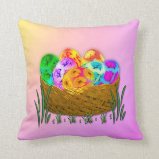 Happy Easter #2 Throw Pillow