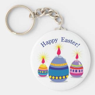 Happy Easter 3 Eggs Key Chain