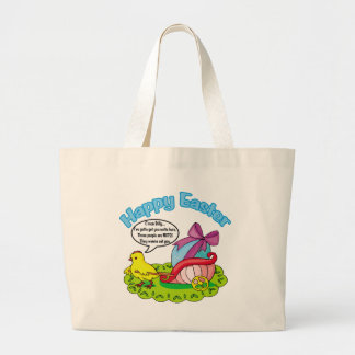 Happy Easter 5 Canvas Bags