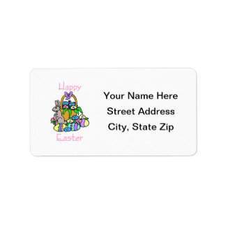 Happy Easter 7 Personalized Address Label