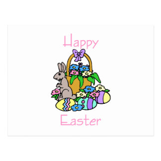 Happy Easter (7) Postcard
