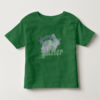 Happy Easter Abstract Bunny Art Toddler T-shirt