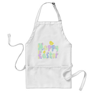 Happy Easter Adult Apron